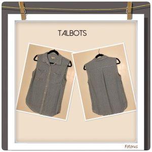 "🆕 Talbots ""Easy To Wear"" Sleeveless Top"